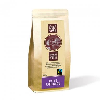 Café Fairtrade artisanal italien torréfié à l'ancienne. Boutic caffè maître torréfacteur. Vente en ligne