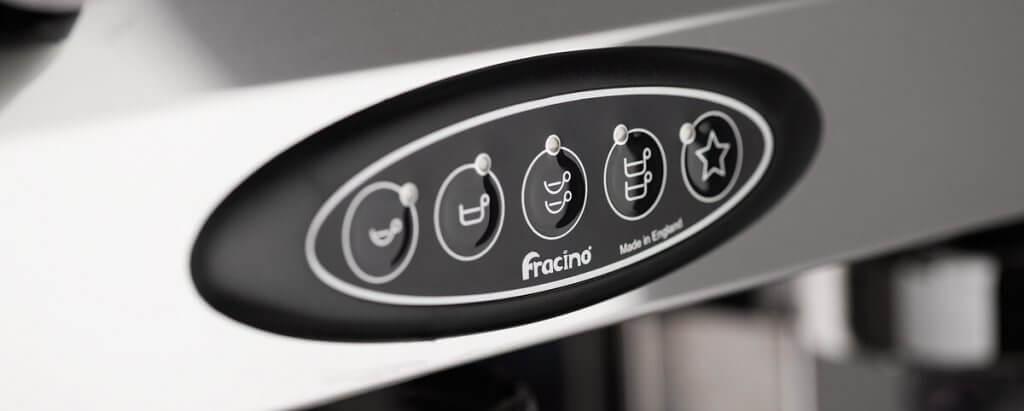 Fracino machine à café professionnelle contemporaine.