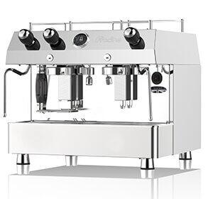 Torino Vintage Café, distributeur pour la France des Machines à café professionnelle Fracino, modèle Contempo semi-automatique à 2 groupes