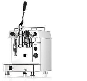 Torino Vintage Café, distributeur pour la France des Machines à café professionnelles Fracino, modèle Retro Dual Fuel à 1 groupe, completement autonome, idéale pour une utilisation en extérieur sur Food Truck, triporteur, camping car